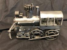 Handcrafted Found Art Locomotive train 9 x 3 x 6