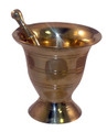 Brass Mortar & Pestle (large)