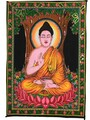 Tapestry Hand Painted Buddha