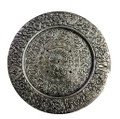 Aluminum Tibetan Round Shaped Incense Burner- 5.5'' Diameter