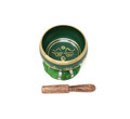 Tibetan Singing Bowl OM MANI (Green)