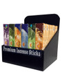 Divine Natural flora Incense with wood display (72 packs)