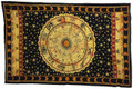 Indian Cotton Tapestry Zodiac Horoscope