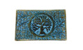 "Wooden Handicraft Storage Box 5"" x 8"" Tree of Life Colored"