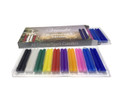 "Chime Candles 4"" (40 Candles in 10 Different Colors)"