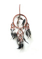 Dream Catchers with Terracota 7 inch