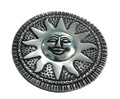Aluminum Round Sun Incense Holder