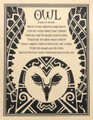 Prayer Poster Owl