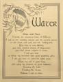 Prayer Poster Water