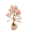 Rose Quartz Tree of Life (7 inch)
