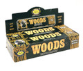 Woods Incense 32 grams (pack of 6)