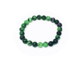 Ruby Zoisite natural 8mm bracelet #17
