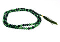 Ruby Zoisite 8mm Japa mala #6 (Prayer Mala)