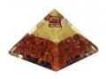 Oregonite Energy Pyramid Red Carnelian (60-65mm) #5