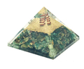 Orgone Energy Pyramid Green Aventurine (60-65mm) #3