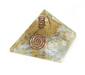 Orgone Energy Pyramid Opalite (60-65mm) #8