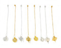 Brass Metal cage Pendulum (set of 8) assorted