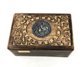 Wood Storage Box Mango wood, Ganesha