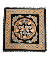 "Indian Cotton Tapestry Altar Cloth Angel 18""x18"""