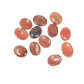 Red Jasper Worry stone (set of 12) 1-1.5""