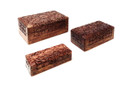Wood Jewelery Boxes (set of 3)