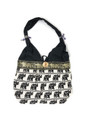 Cotton Hand Bag / Shopping Bag Woven Elephant