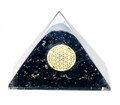 Orgone Energy Pyramid Black Tourmuline FOL #13