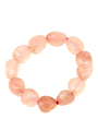 Rose Quartz Tumbled Stone bracelet #34