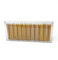 "Chime Candles 4"" (20 Candles in Golden Color)"