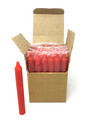 """6"""" Candles (36 pcs), Red"""