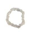 #66 Clear Quartz chip Bracelet