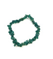 #69 Green jade chip Bracelet