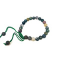 #7 Indian Agate Thread bracelet