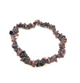 #73 Rhodonite Chip Bracelet