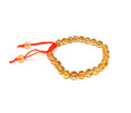 #8 Citrine Thread Bracelet U132