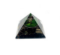 Orgone Energy Pyramid Black Tourmaline W/TOL #19- 50-55 MM