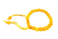 #10 Yellow Jade Thread Bracelet