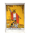 "Indian Cotton Tapestry Wall Hanging Magician (30""x 40"")"