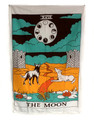 "Indian Cotton Tapestry Wall Hanging Moon (30""x 40"")"