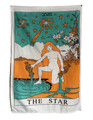 "Indian Cotton Tapestry Wall Hanging Star (30""x 40"")"