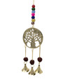 Brass Wind Chime with bells Tree of Life