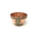 Copper Offering Bowls 3'' Flower of Life
