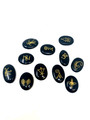 KARUNA 11pc set BLACK TOURMALINE in velvet bag