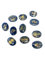 KARUNA 11pc set LAPIS LAZULI with velvet bag(B30)