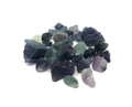 "Tumbled Pebbles Stone Agate Multi Fluorite Rough (3/4""-1.5"")"