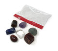 7 chakra Tumbled stone set with pouch