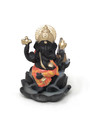 Resin Back Flow Cone Burner (Lotus Ganesha)