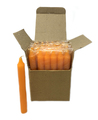 "6"" Candles (36 pcs), Orange"