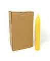 "9"" Household Candles (Pack of 12), Yellow"