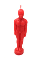 Candle Decorative / Ritual Man Red